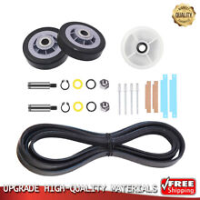 303373K 12001541 303373 Dryer Drum Roller Kit Replacement for Kenmore Maytag
