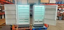 SUB ZERO 72  STAINLESS REFURBISHED SET 36  ALL REFRIGERATOR 501R   ALL FRZ 501F