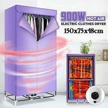 Electric Clothes Dryer 900w Folding Portable Warm Air Baby Cloth Drying Machine