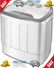 High Efficiency Portable Washer and Dryer Combo in Gray
