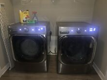 High End Washer Dryer Pair  Super capacity  Steam Clean  Beautiful