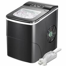 Portable Ice Maker Machine for Countertop  Make 26lb 24h Ice Cube Rready in 6 8