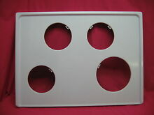 USED PREMIER RANGE STOVE COOK TOP WHITE EXCELLANT SHAPE 5296