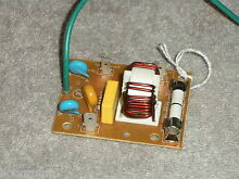 WB27X11134  MICROWAVE OVEN NOISE FILTER   FUSE PULLED FROM A BRAND NEW MICROWAVE