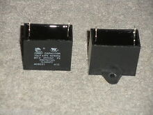 WB27X11209 MICROWAVE OVEN VENT BLOWER CAPACITOR PULLED FROM BRAND NEW MICROWAVE