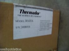 DAMAGED NEW IN BOX Thermador DCT42US STAINLESS HOOD TRIM 12 HIGH X 42  WIDE