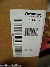BARELY DAMAGED OPEN BOX THERMADOR DCT42US STAINLESS HOOD TRIM 12 x42   429 LIST