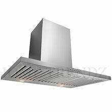 30  Kitchen Wall Mount Stainless Steel Range Hood Stove Vents A4