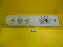 NEW OEM General Electric   WASHER BACKSPLASH CONTROL PANEL  part   wh42x10467