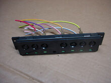 Whirlpool Dishwasher Switch Push Button Assembly Part   8269367