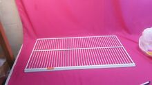 USED WHIRLPOOL UPRIGHT FREEZER UPPER RACK 4 82317 001 4356979 27 5 8  BY 15 1 8