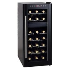 Sunpentown 21 Bottle Dual Zone Thermo Electric Wine Cooler with Heating   WC 219