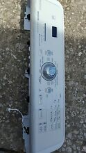 USED MAYTAG BRAVOS WASHER CONTROL PANEL ASSEMBLY   BOARD W10143425 WPW10142425