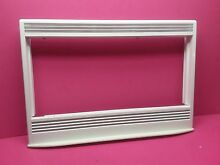 USED KENMORE WALL OVEN MICROWAVE COMBO WHITE DOOR TRIM   VENT ASSEMBLY WB07K5420