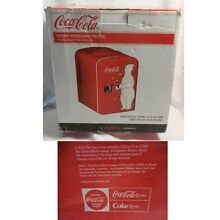 NIB NEW Coca Cola Personal Fridge Refrigerator Thermoelectric Cooler HOT or COLD