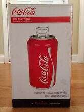Koolatron Portable Coca Cola Mini Fridge Electric Cooler Refrigerator 8 Cans
