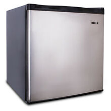 1 1 cu ft Upright Freezer Energy Saving Compressor Freestanding Stainless Steel
