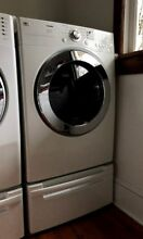 EUC LG Tromm DLE3733W Dryer Newly Serviced Cleaned 7 3 Cu Ft Super Capacity