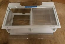 ACQ85428622 KENMORE REFRIGERATOR CRISPER DRAWER ASSEMBLY WITH GLASS