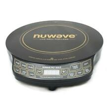 NuWave PIC Gold Precision Induction Cooktop with 10 5  Fry Pan