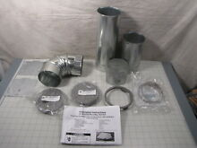 Genuine Whirlpool W10323246 Clothes Dryer 4 Way Vent Kit NEW