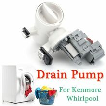 For Kenmore Whirlpool Maytag Washer Drain Water Pump W10730972 8540024 W10130913