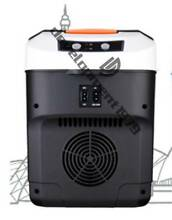 Portable Travel Car Truck Electric Fridge Cooler Warmer Black 22L