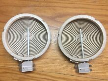 OEM 2x Genuine Frigidaire Kenmore Range Stove Oven Heat Element Set 316010205