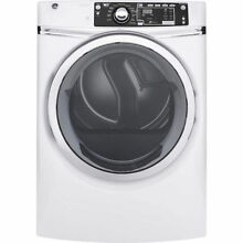 GE 28  Gas Dryer w  8 3cu ft Capacity 13 Dry Cycles 5Temperature Settings White