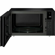 LG LMC1575BD   1 5 Cu Ft  NeoChef Black Stainless Steel Counter Top Microwave