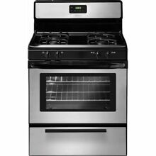 Frigidaire FFGF3017LS 30  Stainless Steel Gas Sealed Burner Range