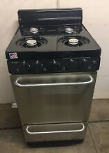 Premier Freestanding Gas Range Oven Stove Stainless Steel 20in  2 42 Cu  Ft