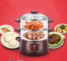 Electric Automatic Rice Cooker Steamer  Slow Cooker Small Kitchen Appliance
