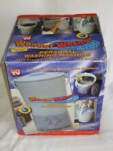 WONDER WASHER PERSONAL WASHING MACHINE TRAVEL MINI LAUNDRY PORTABLE DORM RV NEW