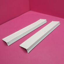 GE REFRIGERATOR DOOR 2 RAILS WR71X10096 WR71X10095  2 SIZES  SEE BELOW SPECIFICS