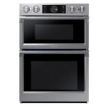 Samsung 30  Stainless Steel Built In  Microwave Combination Wall Oven