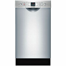 Bosch SPE53U55UC 300 Series 18  Dishwasher Stainless Steel Silver Cosmetic Flaw
