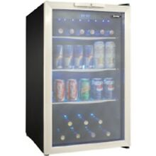 Danby 4 3 Cu Ft Stainless Steel Beverage Center
