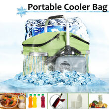 12V 18L Portable Travel Car Truck Storage Bag Fridge Refrigerator Cooler Camping