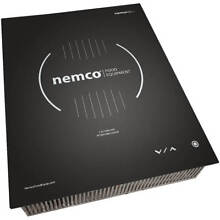 NEMCO 1800W DROP IN INDUCTION COOKTOP  INTEGRATED TOUCH CONTROLS  208 240V