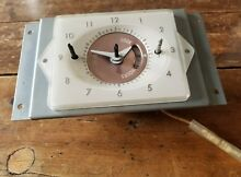 Vintage 50 s 1956 Frigidaire Imperial range stove oven timer clock 5432393
