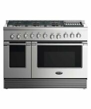 DCS 48  Commercial Style Stainless Steel Dual Fuel 6 Burner Range
