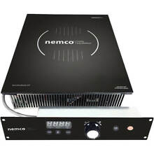 NEMCO 1800W DROP IN INDUCTION COOKTOP  SEPARATE MOUNTED CONTROLS  120V 9120