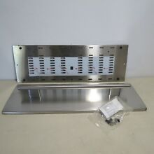 Wolf E Series 812601 30  Stainless Steel Pro Handle Warming Drawer Panel AS IS