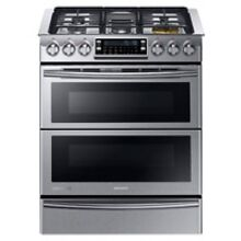 Samsung Dual Fuel Slide In Stainless Steel Range