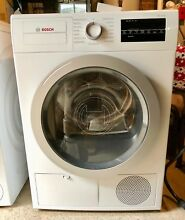 Bosch WTG86401UC 24  500 Series Compact Ventless Electric Dryer White