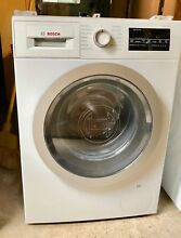 Bosch 500 Series 24  Compact Stackable Front Load Washer WAT28400UC White