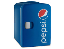 Gourmia GMF660 Pepsi 6 Can Mini Fridge Cooler and Warmer for Home  Office  Car o