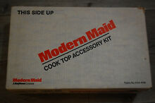 Modern Maid Gas Grill Cook Top Accessory Kit Main Pan With Burners