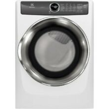 Electrolux Island White Gas Steam Dryer